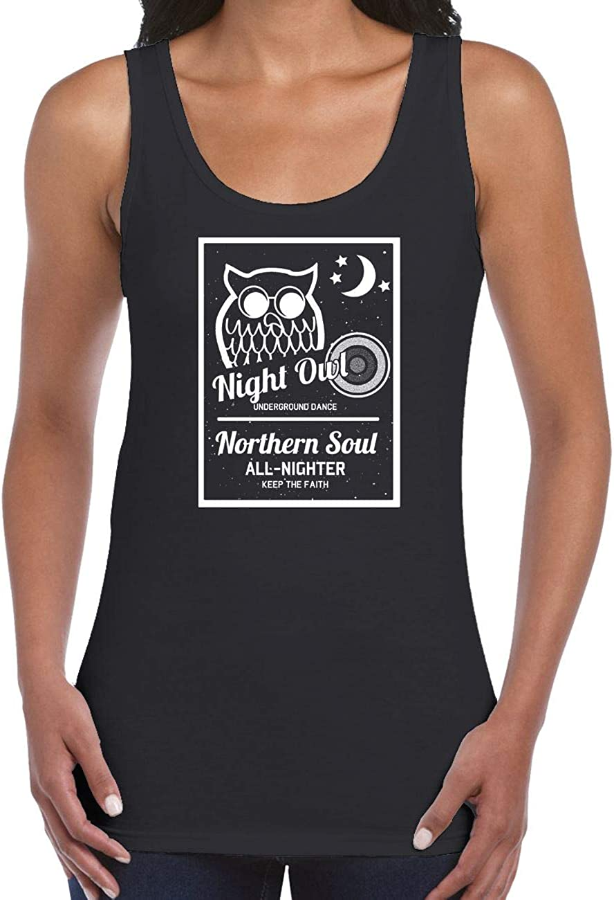 Night Owl Underground Dance Northern Soul Women's Vest Tank Top