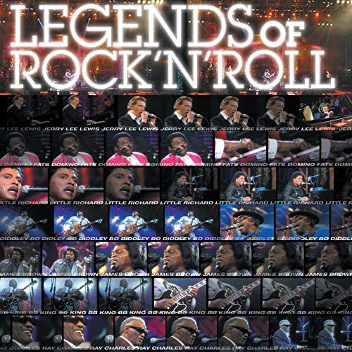 James Brown, Bo Diddley, Ray Charles, Little Richard, Jerry Lee Lewis, Fats Domino & B.B. King