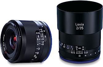 Zeiss Loxia 35mm f/2 Biogon T Lens for Sony E Mount, Black