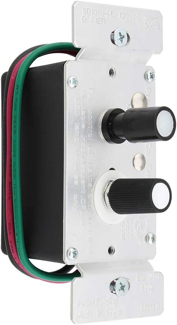 Standard Single-Pole Direct store Push Button Universal Pe Dimmer Super intense SALE with Switch