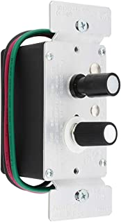 Standard Single-Pole Push Button Universal Dimmer Switch with Pearl Buttons 300W