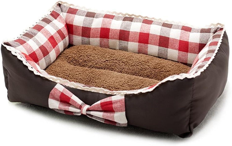 Dixinla Pet Bed Pet Supplies Pet Litter mat Fresh Art Butterfly Knot Kennel Princess Bed Lace Dog Bed cat nest