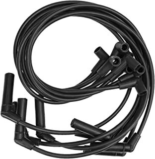 8MM HEI Spiral Core SPARK PLUG WIRES For BBC CHEVY GMC Chevrolet 396-427-454