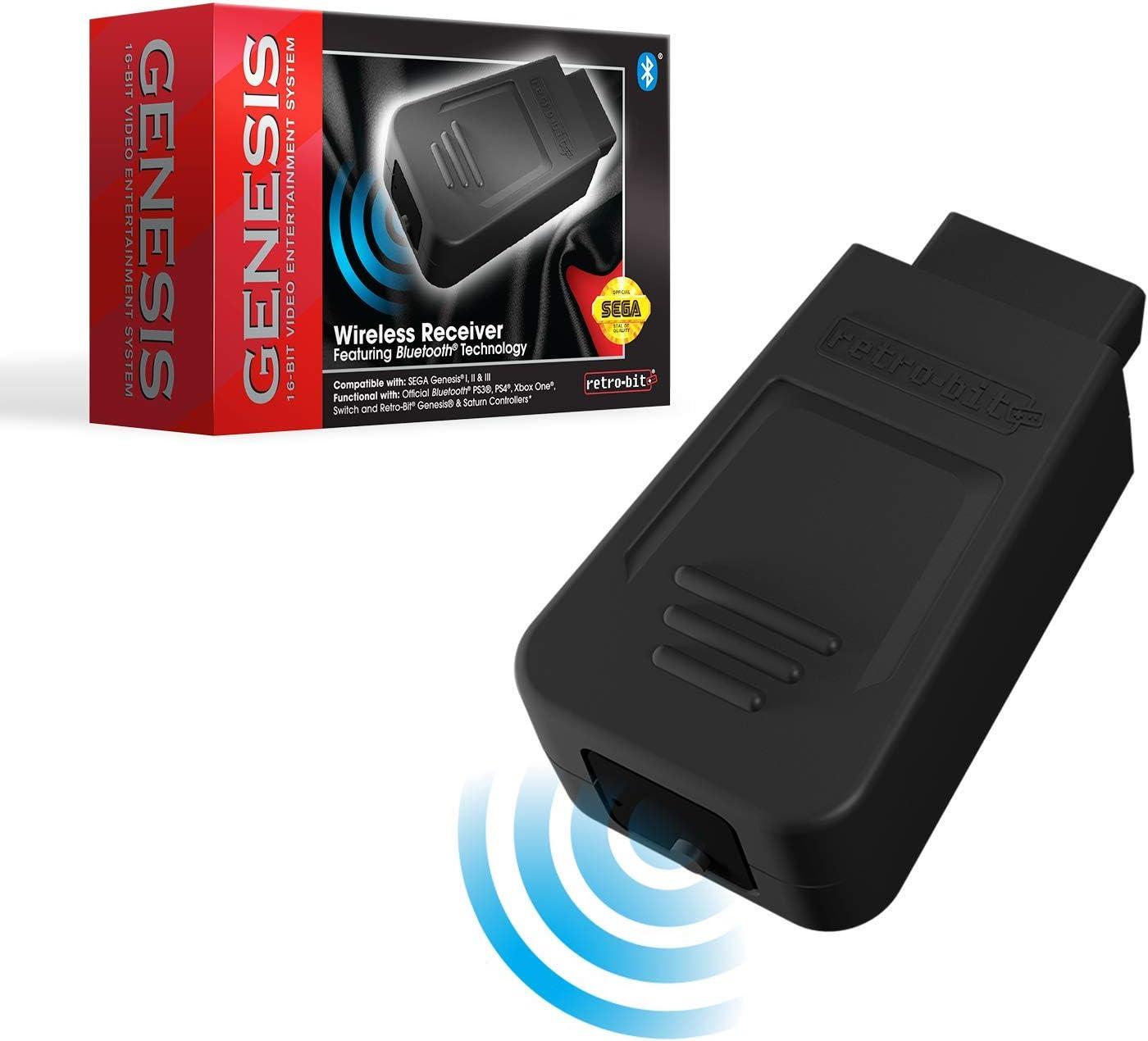 Retro-Bit Official Sega Genesis Gene Bluetooth Receiver Max 69% OFF for Max 77% OFF