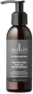 Sukin Oil Balancing Mattifying Facial Moisturiser, 125ml