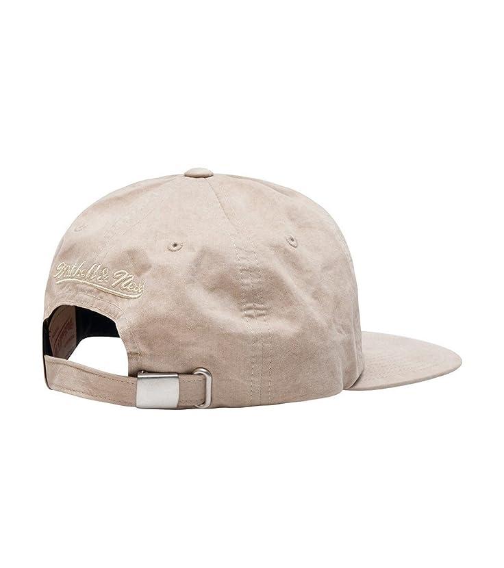 Mitchell & Ness Men's Brooklyn Nets Low Profile Self Fabric Adjustable Strapback Hat