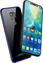 Huawei Mate 20 Case, Diaxbest Slim Aluminum Metal Bumper Case with Tempered Glass Back Cover, Shockproof Anti-Scratch Hard Case Compatible Huawei Mate 20 Huawei Mate 20 Pro Blue
