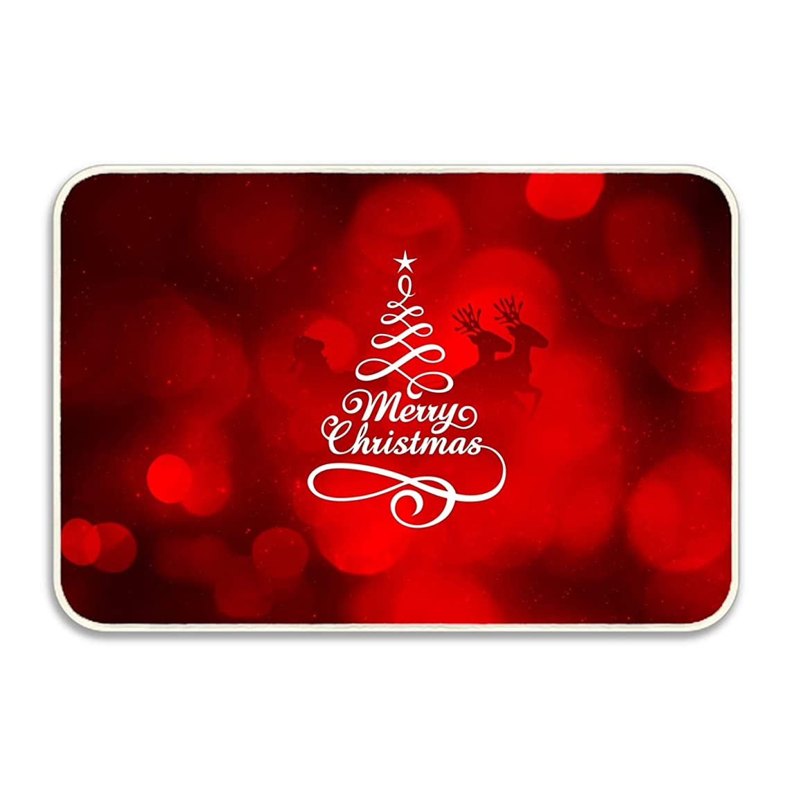 したいだらしない日曜日マット 玄関マット ふわっと優しい踏み心地のアウトドアマット 約40×60cm メリークリスマスNew エントランス ドア ガーデニング ガーデン おしゃれ かわいい 土間 泥落とし ナチュラル 外 屋外 フロッグ