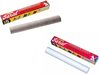 Saral Transfer paper 12 foot rolls in graphite and white