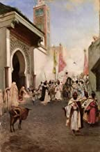 34 Famous Paintings - AED200-4000 Hand Painted by Academic Artists - Entrance of Mohammed II into Constantinople Jean Jose...