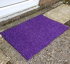 Nomow Rainbow Series Doormat, Purple, 75 x 50 x 0.24 cm