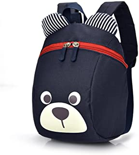 Age 1-2Y Cute Bear Small Toddler Backpack With Leash Backpack Bag for Boy Girl