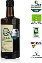 Aceite de Oliva Virgen Extra Premium, Ecológico y Orgánico   AOVE Gourmet de extracción en frío. Cosecha temprana de Arbequina y Morisca   Botella de 500ml y acidez 0,14º  Producto Bio de Extremadura