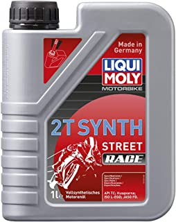Liqui Moly (1505) Racing Synth 2T Motor Oil - 1 Liter Bottle