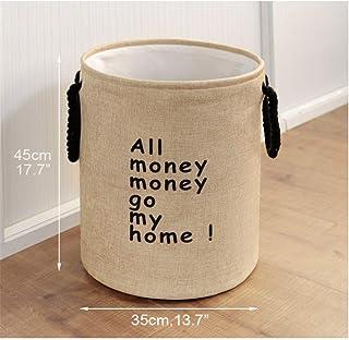 SUNAYV Panier À Linge Panier À Linge Super Grand Rangement Laver Les Vêtements Sale Articles Divers Boîte Organisateur Bin...