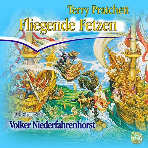 Fliegende Fetzen audiobook cover art