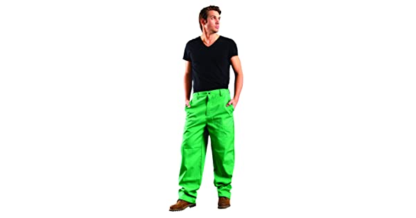 Occunomix Mig Wear Flame Resistant Pants//Length 30 34 Green