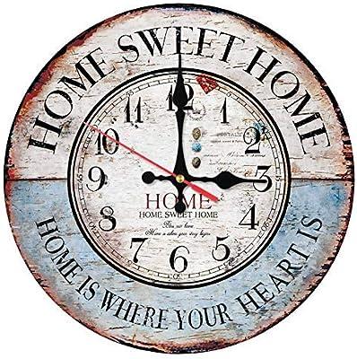 クロック 掛け時計 アナログ壁掛け時計木製時計家の装飾水晶手の形の顔静物ステッカー現代のリビングルームのソファの背景