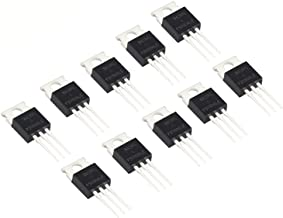 WeiMeet RFP30N06LE 30A 60V N-Channel Power Mosfet TO-220 ESD Rated for Arduino(10 Pieces)