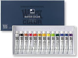 ShinHan Professional Watercolor Paint 7.5ml Tubes 13 Color Set