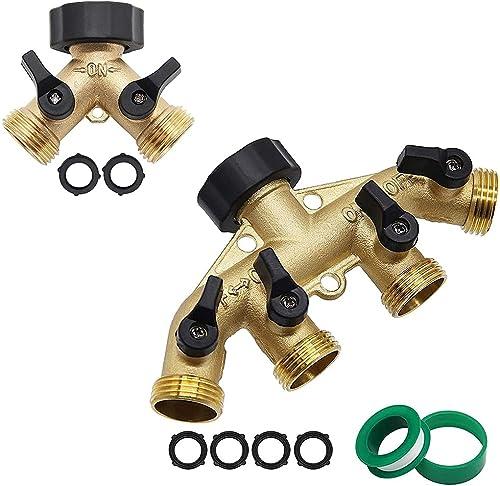 high quality Twinkle Star Hose high quality Splitter 2 Way | 4 lowest Way Garden Hose Splitter outlet sale