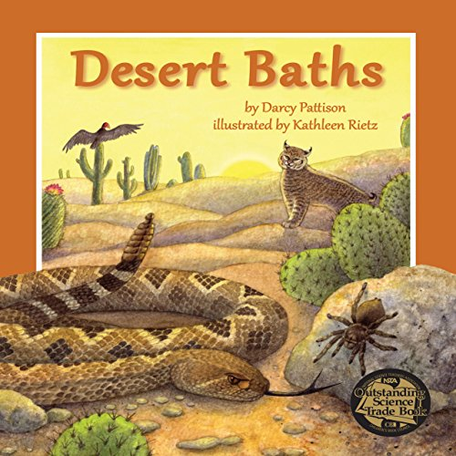 Desert Baths audiobook cover art