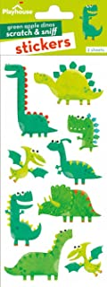 Playhouse Silly Dinosaurs Green Apple Scented Scratch & Sniff Sticker Sheets