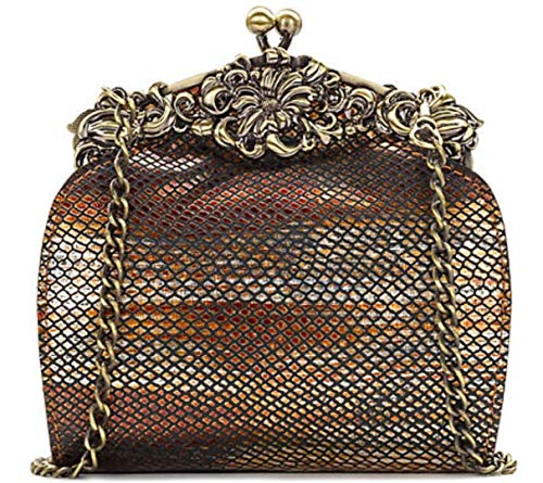 Patricia Nash Rosaria Frame Clutch Gold One Size