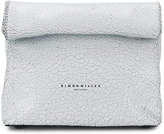 Simon Miller Women's S809702810047 White Leather Clutch
