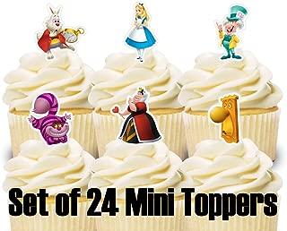 Best alice in wonderland cupcake wrappers Reviews