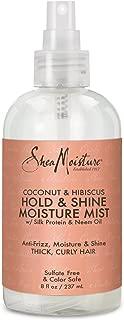 Shea Moisture Coconut & Hibiscus Hold & Shine Moisture Mist, 8 Fluid Ounce