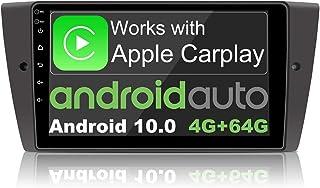 $504 » MAG.AL Android 10 Car Stereo Radio GPS Navigation Head Unit Video Multimedia Player, for B M W 3 Series E90/E91/E92/E93 Sa...