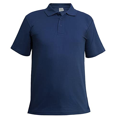 2217e9a3 Blue Polo Shirt: Amazon.co.uk