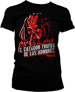 Officially Licensed Predator - De Los Hombres Women T-Shirt