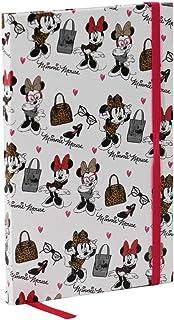 Minnie Mouse- Fashion Diario, Color Blanco, 21 x 13 cm (Karactermanía 35077)