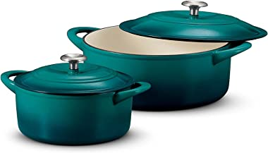 Tramontina Dutch Oven Set, 2-pack ( Teal )