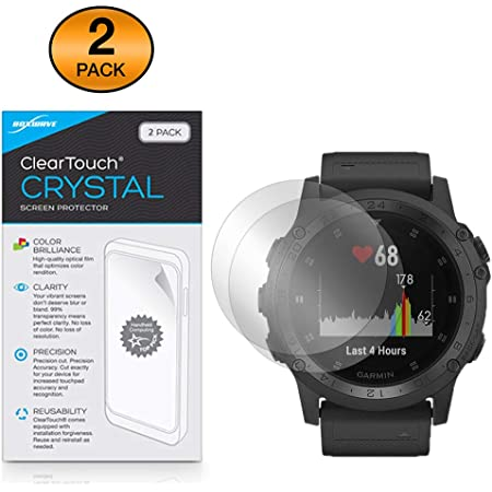 dipos I 6x Screen Protector matte compatible with Garmin tactix Delta Protection Films