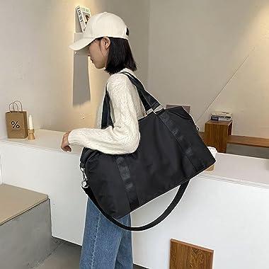 MENGDIYAQIAN Mode Große Reisetasche Frauen Cabin Tote Bag Handtasche Nylon Wasserdichte Umhängetasche Frauen Wochenende Sport
