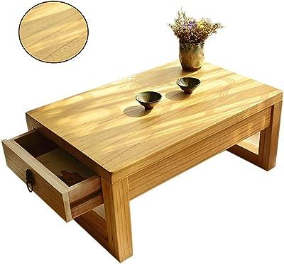 Mesas de centro De Madera Maciza de Estilo japonés cajón de la ...