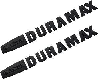 1x OEM ALLISON DURAMAX EMBLEMS for GM 2015 SILVERADO 2500HD 3500HD HD Chrome a