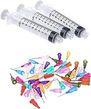 Besttse - Juego de agujas de dispensador de plástico para dispensador de líquido, pegamento adhesivo