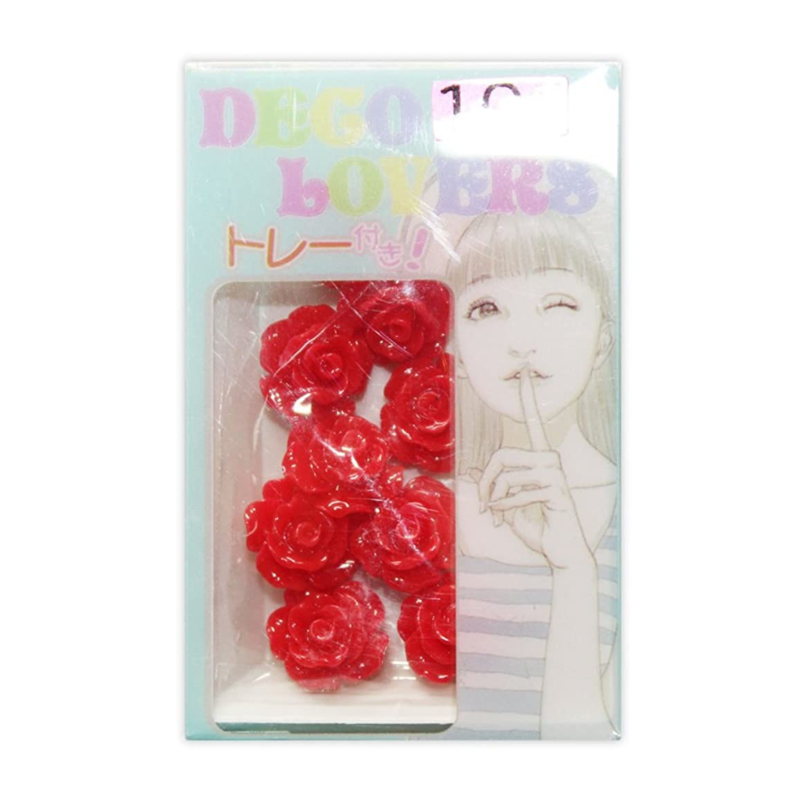 規定ディベート地中海ラインストーン DL017/flower rosem red