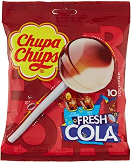 Chupa Chups Fresh Cola Lollipops, 120 gm