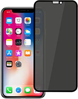 Letang iPhone XR iPhone 11 Privacy Screen Protector, [Full Coverage] [Case Friendly] [Super Clear] Anti-Spy 9H Hardness Tempered Glass Screen Protectors for Apple iPhone XR iPhone 11