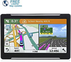 Car GPS, 7-inch Touch Screen Car Navigation, 256-8GB Car GPS Satellite Navigator System, Lifetime Map Update