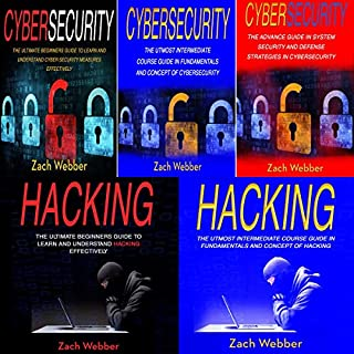 The Principles of Cybersecurity and Hacking: 5 Books in 1 audiobook cover art