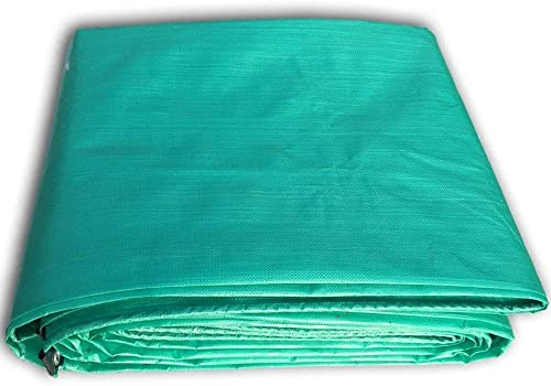 Fonly Tente extérieure imperméable de bache de bache de Tente d'ombre d'ombre de bache Verte de Camping