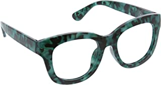 Peepers by PeeperSpecs Women's Center Stage Oversized Blue Light Filtering Reading Glasses