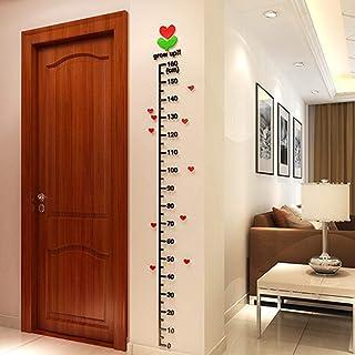 ملصقات قياس ارتفاع الأطفال بتصميم اصنع بنفسك وثلاثية الابعاد من الاكريليك ملصق مقياس الارتفاع لغرفة الاطفال ديكورات جدارية...