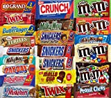 Extra Large Chocolate Bars - Holiday KING SIZE Bulk Chocolate - Assorted Chocolates Mix, All Your Favorite Chocolate Bars Including M&M, Snickers, Twix and More, 20 Extra Large Bars
